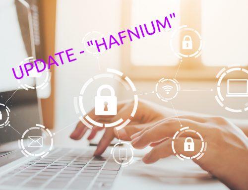 """Update Microsoft Sicherheitslücke """"Hafnium"""" – Was Sie jetzt tun sollten"""